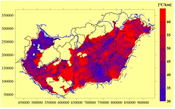 geotermikus térkép magyarország Magyarországon tényleg bárhol találni termálvizet? | Termál & Fürdő geotermikus térkép magyarország